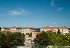Xunta de Galicia en Santiago de Compostela Fotografía de archivo libre de regalías