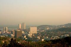 Xuyi county, city scenery royalty free stock photos