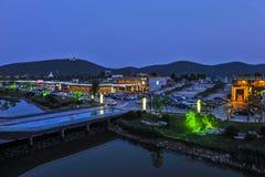 Xuzhou Yunlong Lake Lake Xintiandi Royalty Free Stock Photo