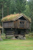 XV old wooden traditional building, Norway Stock Photo