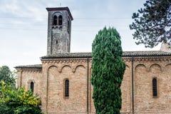 XVI century church in Italy Stock Photos