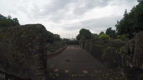 xvi wiek Intramuros izolujący miasto sądu jard zdjęcie wideo