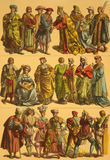 xvi wiek kostiumów holandie Zdjęcia Royalty Free