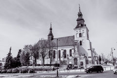 XVII Bernardine church and monastery in Piotrkow Royalty Free Stock Photo