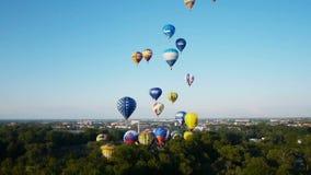 Xvii Th Velikie Luki国际气球集会 股票录像