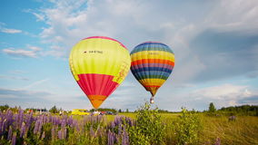 Xvii Th Velikie Luki国际气球集会 影视素材