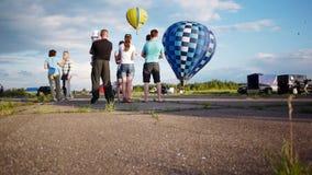 Xvii Th Velikie Luki国际气球集会 股票视频