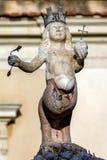 xvii wiek fontanna w Taormina, Włochy Obrazy Stock