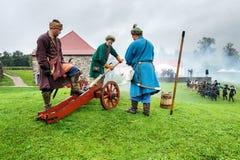 xvii wiek historyczny festiwal Zdjęcie Stock