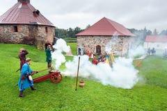 xvii wiek historyczny festiwal Obraz Royalty Free