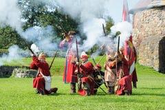 xvii wiek historyczny festiwal Zdjęcie Royalty Free