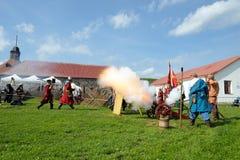 xvii wiek historyczny festiwal Fotografia Royalty Free