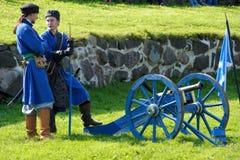 xvii wiek historyczny festiwal Obrazy Royalty Free
