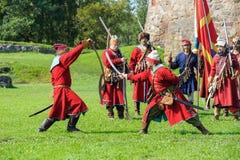 xvii wiek historyczny festiwal Obraz Stock