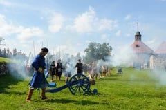 xvii wiek historyczny festiwal Fotografia Stock