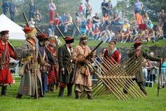 xvii wiek historyczny festiwal Obrazy Stock