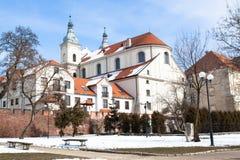 Église de jésuite dans Piotrkow Trybunalski Photo stock