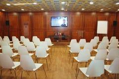 XX圣彼得堡国际经济论坛(SPIEF 2016年俄罗斯) 在亭子意大利 免版税库存照片
