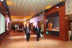 XX форум Санкт-Петербурга международный экономический (SPIEF Россия 2016) В павильоне Италии Стоковые Фотографии RF