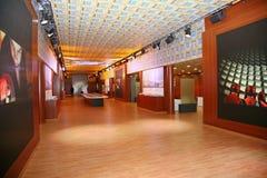 XX форум Санкт-Петербурга международный экономический (SPIEF Россия 2016) В павильоне Италии Стоковое фото RF