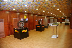 XX fórum econômico internacional de St Petersburg (SPIEF Rússia 2016) no suporte da empresa de Pirelli Fotografia de Stock Royalty Free