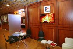 XX forum économique international de St Petersbourg (SPIEF Russie 2016) Dans le pavillon Italie Photographie stock libre de droits