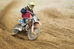 XX International motocross in Vladimir Royalty Free Stock Image