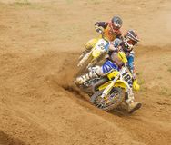 XX International motocross in Vladimir Royalty Free Stock Images