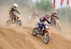 XX International motocross in Vladimir Stock Photography