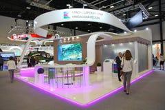 XX internationales Wirtschaftsforum St Petersburg (SPIEF Russland 2016) der Stand der Region von Krasnodar Krai Lizenzfreie Stockbilder