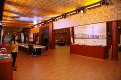 XX St Petersburg internationellt ekonomiskt forum (SPIEF Ryssland 2016) I paviljongen Italien Arkivbilder