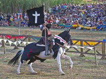 XX Terra Trobadors, Caballero negro Stock Photography