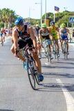 XXI Triathlon Herbalife Villa de Rota stockfotografie