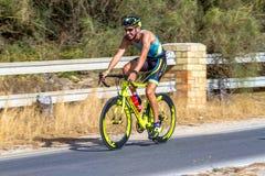 XXI Triathlon Herbalife Villa de Rota lizenzfreies stockfoto