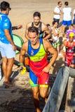 XXI Triathlon Herbalife Villa de Rota lizenzfreies stockbild