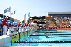 The XXIIe International Meeting Arena of Swimming Stock Photos