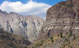 XXIII - Cajon Del Maipo, Chile - Zdjęcie Stock