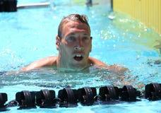 The XXIIIe International Meeting Arena of Swimming Stock Photos