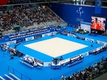 XXIV championnat gymnastique rhythmique européen Photo stock