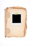 XXL - Пустая рамка фото Стоковая Фотография