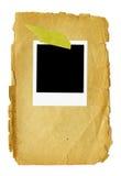 XXL -空白的照片框架 免版税库存图片
