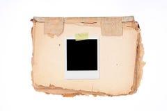 XXL -空白的照片框架 库存图片
