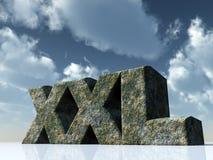 Xxl Royalty Free Stock Image