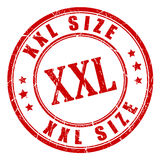 Xxl big size stamp Stock Photo