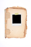 XXL - Blank Photo Frame. Stock Photography