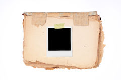 XXL - Blank Photo Frame. Stock Images