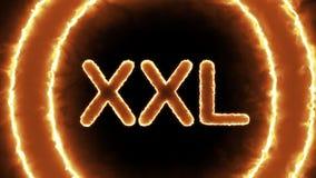 XXL-bränning lager videofilmer
