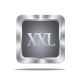 XXL button. Stock Image