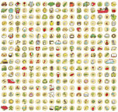XXL Collection of 289 doodled icons for every occasion No.2 Stock Photos