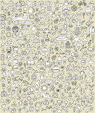 XXL Doodle Icons Set No.2 Royalty Free Stock Photo